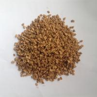 Wholesale 3-4mm Diameter,7%~8% Misiture Nature Eco - Friendly corks granules, Good sound and heat insulation from china suppliers