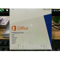 Wholesale DVD + Key Card Microsoft Office Professional Plus 2013 Retail Box 32 Bit / 64 Bit from china suppliers
