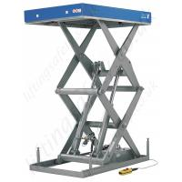 Wholesale Telescopic scissor lifting platform 1000kg 1m with high strength steel for construction from china suppliers