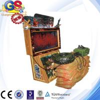 Wholesale 2014 3d coin operated rambo shooting game machine, gun simulator shooting game machine from china suppliers