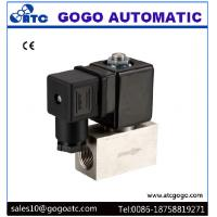 Wholesale 200 Bar High Pressure Solenoid Valve , Stainless Steel Solenoid Valves Air / Water from china suppliers