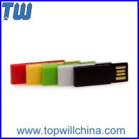 Wholesale Colorful Clip Usb Drive 4GB Office Storage Free Logo Printing Company Gift from china suppliers