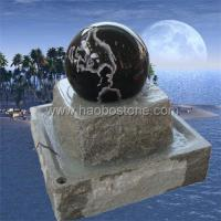 Wholesale Granite floating ,turning ball fountain from china suppliers