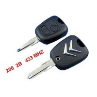 Wholesale Citroen C2 Remote Key 433MHZ, 2 Button Citroen Auto Remote Key Blanks from china suppliers