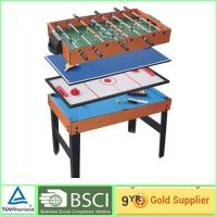 Quality Modern Foosball 4 in 1 games Table  Muti color for teenagers and adults for sale