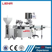 Wholesale Automatic Cosmetic Cream Lotion Liquid Filling Line Packing Line from china suppliers