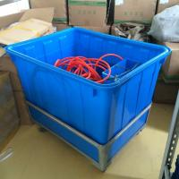 Wholesale 300L Large cheap plastic Laundry garment crates container from china suppliers