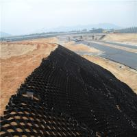 Wholesale 200mm height smooth furface HDPE Geocell for roadbed, slope protection by professional factory price from china suppliers
