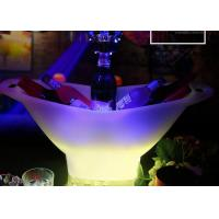 Buy cheap 2018 Hot Plastic Champagne Acrylic Led Ice Bucket For Beer , Colour Changing Ice Bucket from wholesalers