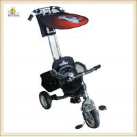 Wholesale Black Baby Smart Trike 3 In 1 Three Point Wide EVA Soft Tyres from china suppliers