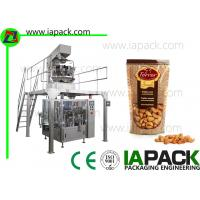 Quality Cashew Kernels Packing Machine With 10 Head Weigher 50G-500G Doypack Packing Machine bag width up to 300mm for sale