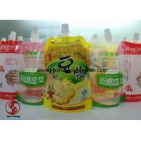 Wholesale BOPP / PET Spouted Pouches Packaging With Gravure Printing Customized Size from china suppliers
