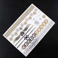Wholesale Glitter / Flash Metal Body Makeup Hair Tattoo Sticker Fashion Semi Permanent from china suppliers