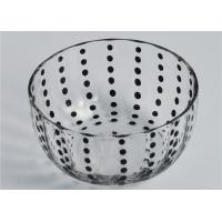 Wholesale Colored Round Glass Candle Holder / Glass Candle Bowls Recyclable from china suppliers