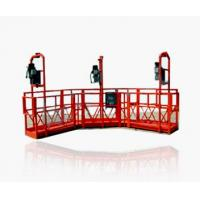 Wholesale ZLP630 Galvanized Steel Suspended Platform Cradle, Swing Stage With 630Kg Load, 8-10m/min from china suppliers