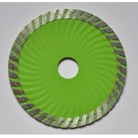 Wholesale Hotsell! 125mm Sintered Wave Diamond Turbo Saw Blades from china suppliers