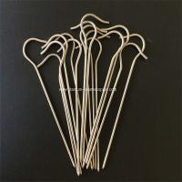 Wholesale 10pcs Gr5 Titanium tent Peg nail stake hook spike skewer Camping hiking outdoor 3mm*150mm from china suppliers