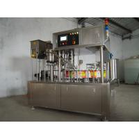 Wholesale Spout Pouch Liquid Filling Equipment , Milk / Water Pouch Packing Machine from china suppliers