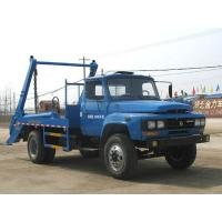 Wholesale Dongfeng 4*2 swing arm garbage truck/skip loader garbage truck for sale, hot sale dongfeng wastes collecting vehicle from china suppliers