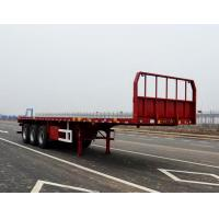 Wholesale CLWSkyflying De Kam 10.5 m 34.4 tons axle flatbed semi-trailer TJV9400TPBE 30086 from china suppliers