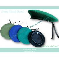 Wholesale pure wool military beret from china suppliers