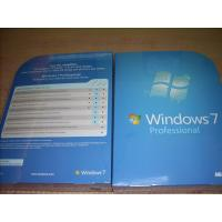 Wholesale Russian / English Windows 7 Professional Retail Box win 7 home premium 32 bit sp1 from china suppliers