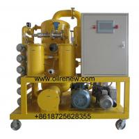 China High vacuum transformer oil purification equipment/Transformer oil filtration unit/transformer oil filter series ZYD-N on sale