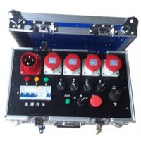 Wholesale Noctilucence Rack Flight Case , Four Channel Motor Chain Hoist Power Case from china suppliers