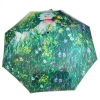 Wholesale Latest Ladies beautiful High quality 3-fold full color print fashion umbrella from china suppliers