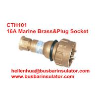 Wholesale 10A/16A marine plug CTH101 brass explosion proof plug&socket 792886 IP56 from china suppliers