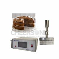 Wholesale 20KHZ Ultrasonic Food Cutting Machine For Chocolate Cake / Baked Cookies from china suppliers