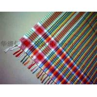 Wholesale Arab pure wool rainbow jacquard scarf from china suppliers