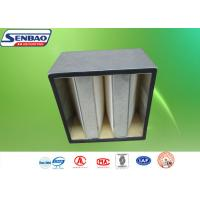 Wholesale Fiberglass Media Absolute Carbon Air Filter Galvanized Frame Medium Efficiency from china suppliers