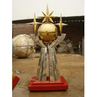 Wholesale 6 meter height city stainless steel sculpture from china suppliers