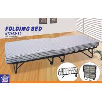 Wholesale Adjustable Space Saving Nylon Portable Folding Beds / Single or Double Custom Folded Bed from china suppliers