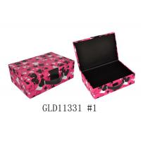 Wholesale Customized Size PU Cosmetic Bag Portable Makeup Case SGS Certification from china suppliers