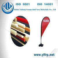 Buy cheap Pultrusion Fiber Glass Polyester Plastic Tent Pole, Beach Camping Pole, Flag Pole from wholesalers