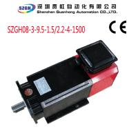 Wholesale 3 phase 1.5KW AC Spindle Servo Motor for CNC lathe and milling machine from china suppliers