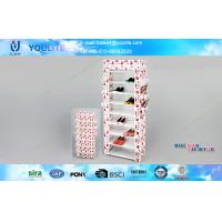 Wholesale Urban Industrial Modern Storage Cabinet Wardrobe Shoe Rack / Shoes Store Display Stand from china suppliers
