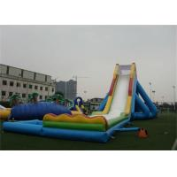 Wholesale Outdoor Giant Hippo Inflatable Water Slides And Pool For Adults from china suppliers
