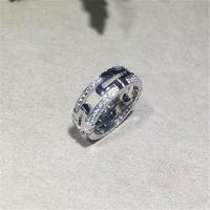 Wholesale Bvlgari parentesi series ring 18k white gold yellow gold rose gold diamond  ring from china suppliers