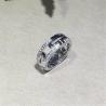 Buy cheap Luxury jewe factory parentesi series ring 18k white gold yellow gold rose gold diamond  ring from wholesalers