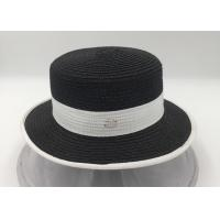 Wholesale Fashion Women Men Summer Straw Boater Hat Boonie Hats Beach Sunhat from china suppliers