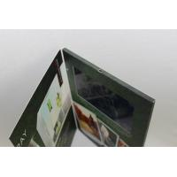 Quality fastival gift LCD Video Brochure with 2GB memory , 10.1 inch lcd video greeting card for sale