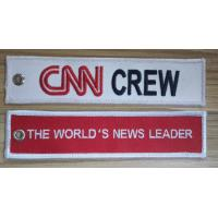 Wholesale The World's News Leader CNN Crew Embroidery Keyring from china suppliers