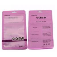 Wholesale Custom printed OPP Zipper Plastic Packaging bags for phone case and assessories packing from china suppliers