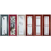 Buy cheap Aluminum casement door for bathroom from wholesalers