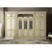 Wholesale modern bedroom furniture good quality Italian style wooden wardrobe designs from china suppliers