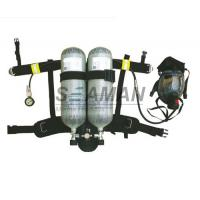 Wholesale Marine EC / MED Ship's Wheel Mark Air Breathing Apparatus With Two Cylinder / SCBA Set from china suppliers