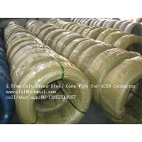 Wholesale 1.57mm High Tensile Galvanized Steel Wire for ACSR Conductor as per ASTM B 498 Class A from china suppliers